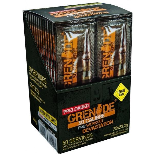 Grenade 50 CALIBRE 25 x 23,2g killa cola