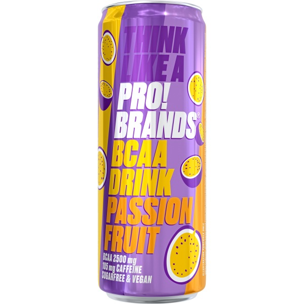 PRO!BRANDS BCAA Drink 330ml passion fruit