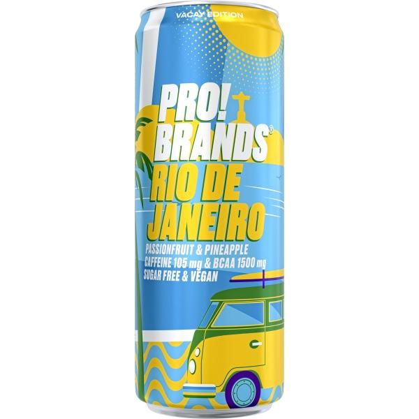 PRO!BRANDS BCAA Drink RIO DE JANEIRO 330ml passion fruit / ananas