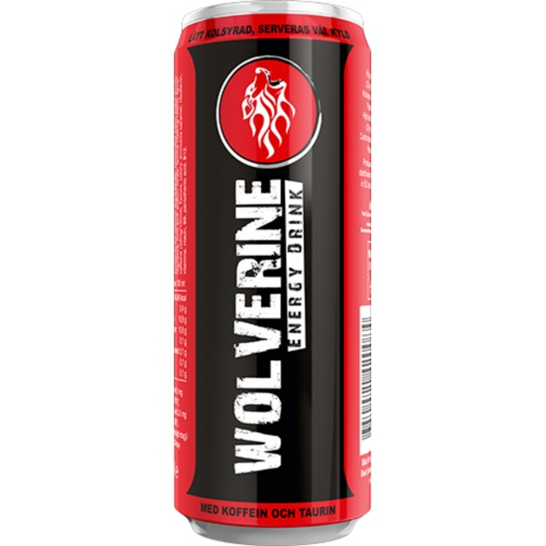 Wolverine Energy Drink 250ml příchuť: original