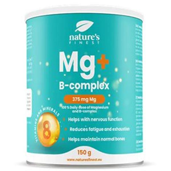 Domů Nutrisslim Magnesium + B-Complex 150g (Hořčík + B-komplex)