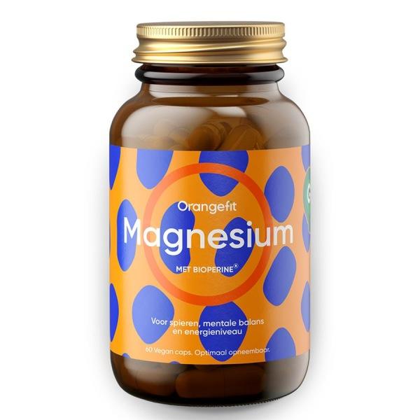 Vitamíny a minerály Orangefit Magnesium with Bioperine 60 kapslí