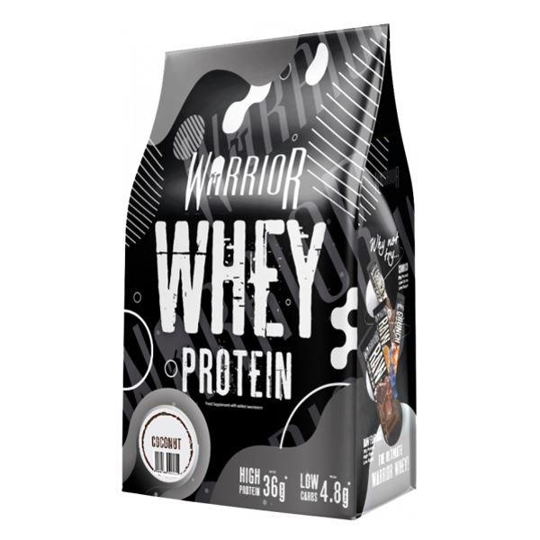 Proteiny WARRIOR Whey Protein 1kg kokos