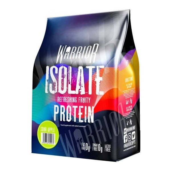 Proteiny WARRIOR Isolate Protein 500g sour apple