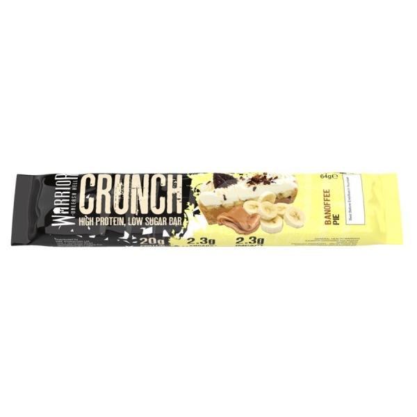 WARRIOR Crunch Bar 64g banoffee pie