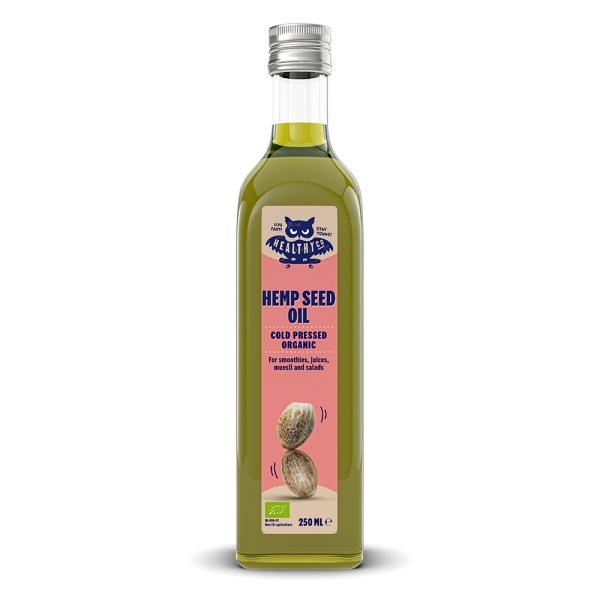HeathyCo ECO Konopný olej za studena lisovaný 250ml