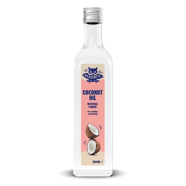 HealthyCo Tekutý kokosový olej – neutrální 250ml