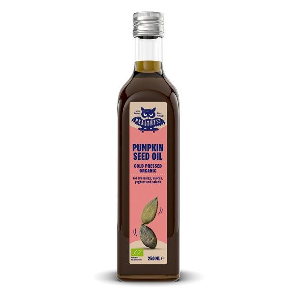 HealthyCo ECO Dýňový olej za studena lisovaný 250ml