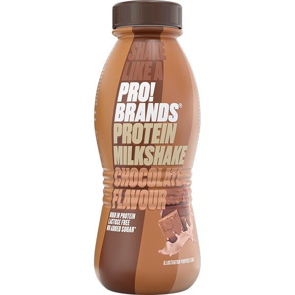 PRO!BRANDS PROTEIN MILKSHAKE 310ml – čokoláda