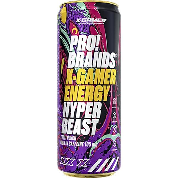 X-GAMER ENERGY HYPER BEAST 330ml – fruit punch
