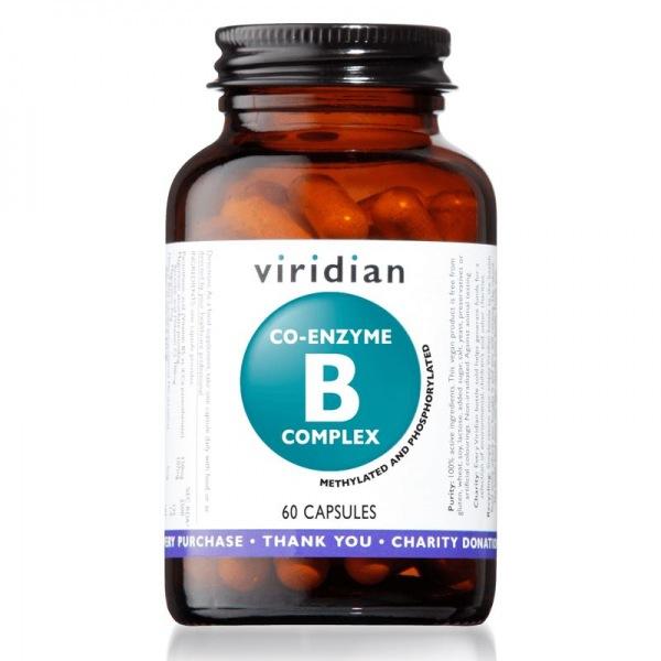 Viridian Co-enzyme B Complex 60 kapslí