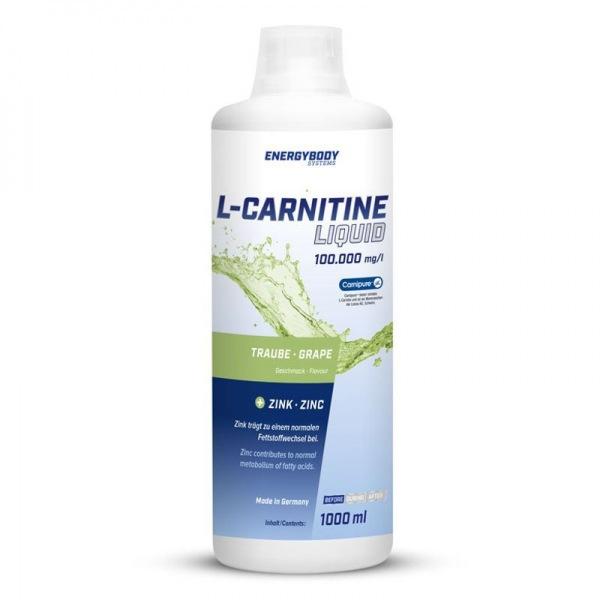 EnergyBody L-Carnitin Liquid 100.000mg 1000mg