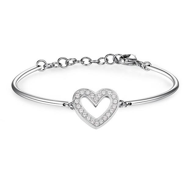 NÁRAMKY Brosway ocelový náramek Heart Chakra BHK66
