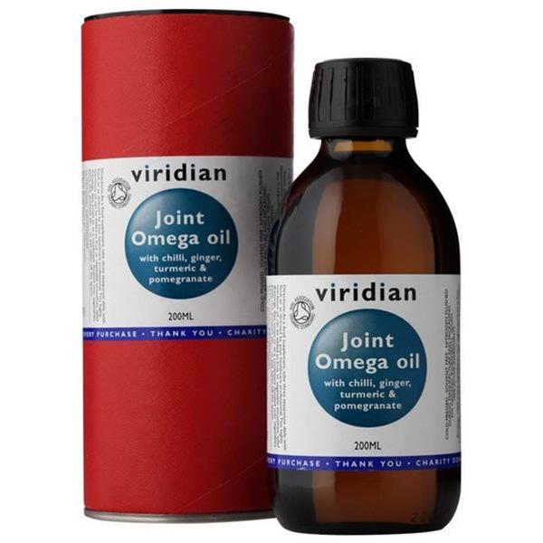 Viridian Joint Omega Oil 200ml Organic