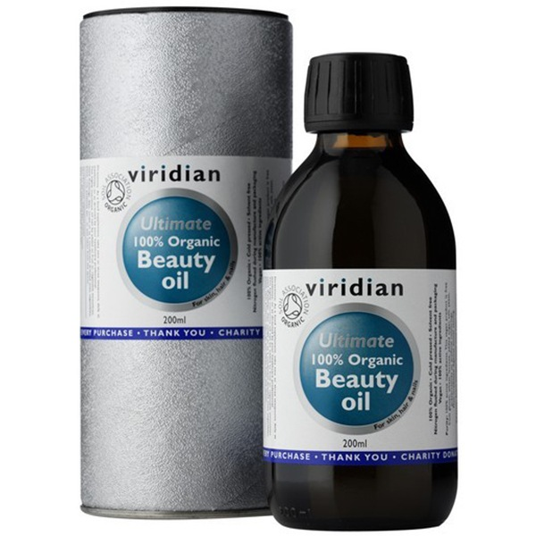 DOPLŇKY STRAVY Viridian Beauty Oil 200ml Organic