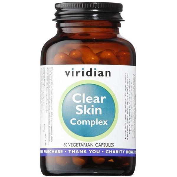 DOPLŇKY STRAVY Viridian Clear Skin Complex 60 kapslí