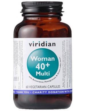 Viridian 40+ Woman Multivitamin 60 kapslí