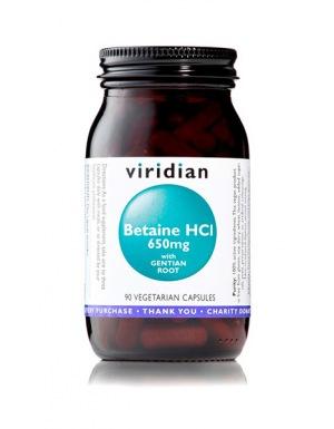 Viridian Betaine HCL 90 kapslí