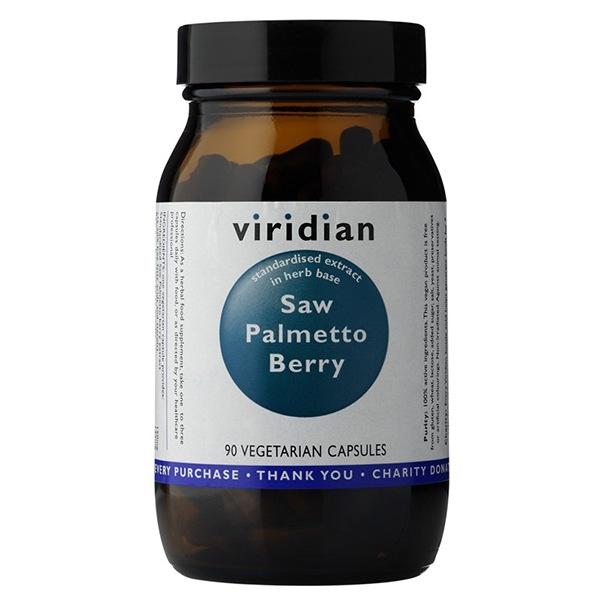 DOPLŇKY STRAVY Viridian Saw Palmetto Berry 90 kapslí