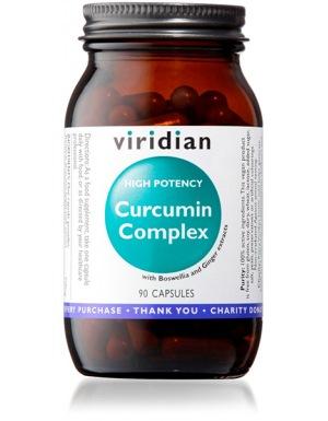 Viridian Curcumin Complex 90 kapslí