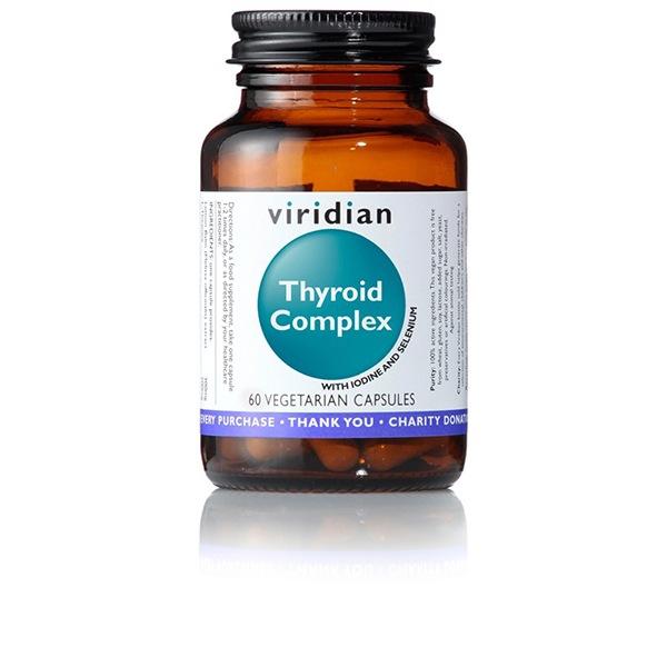 DOPLŇKY STRAVY Viridian Thyroid Complex 60 kapslí