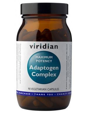 Viridian Maxi Potency Adaptogen Complex 90 kapslí