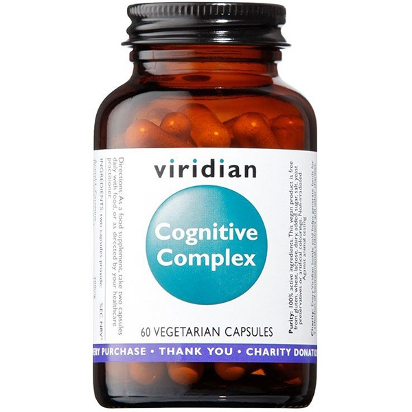 Viridian Cognitive Complex 60 kapslí (Kognitivní komplex)