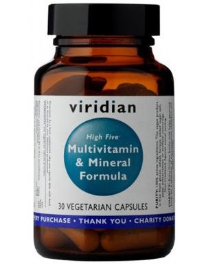 Viridian High Five Multivitamin & Mineral Formula 30 kapslí