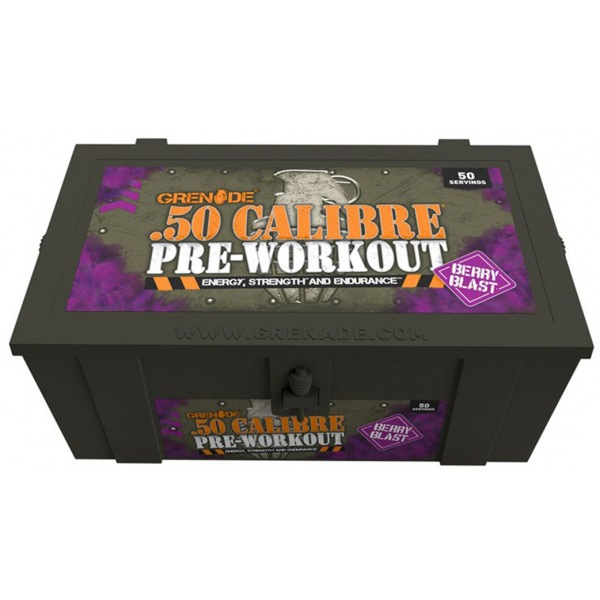 Grenade 50 CALIBRE 580g berry