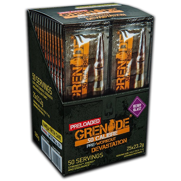 Grenade 50 CALIBRE 25 x 23,2g berry