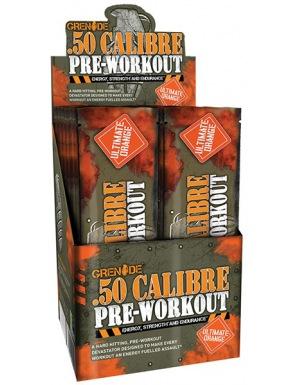 Grenade 50 CALIBRE 25 x 23,2g ultimate orange