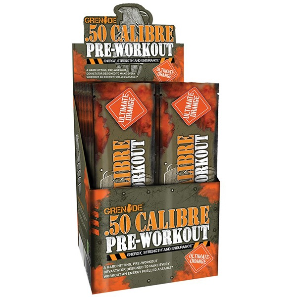 Grenade 50 CALIBRE 25 x 23,2g ultimate orange