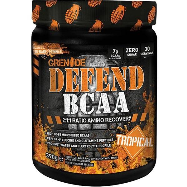 Grenade Defend BCAA 390g tropické ovoce