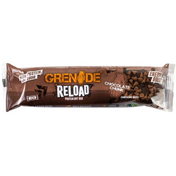 Grenade Reload Protein Bar 2 x 35g chocolate chunk