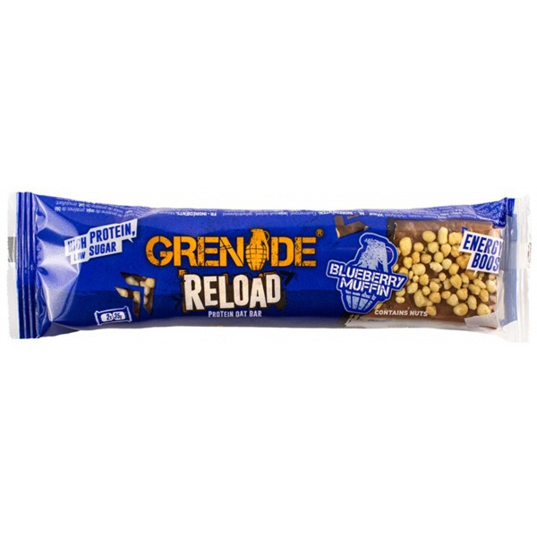 Grenade Reload Protein Bar 2 x 35g blueberry muffin