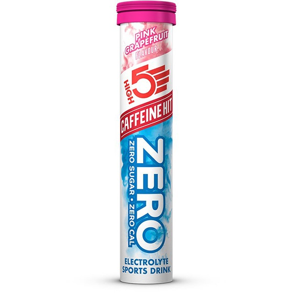 High5 Zero Caffeine Hit 20 tablet New růžový grep