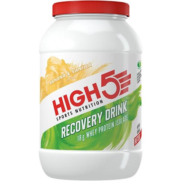 High5 Recovery Drink 1,6kg banán - vanilka