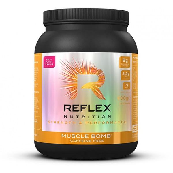 Reflex Muscle Bomb Caffeine Free 600g fruit