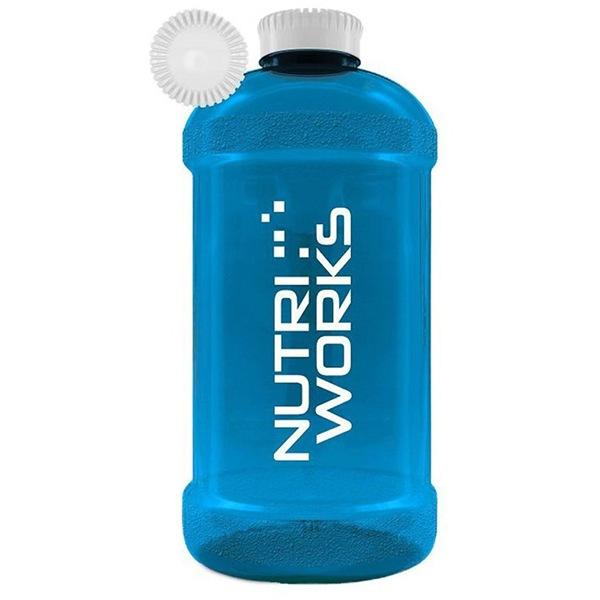NutriWorks Barel na vodu 2,2l modrý