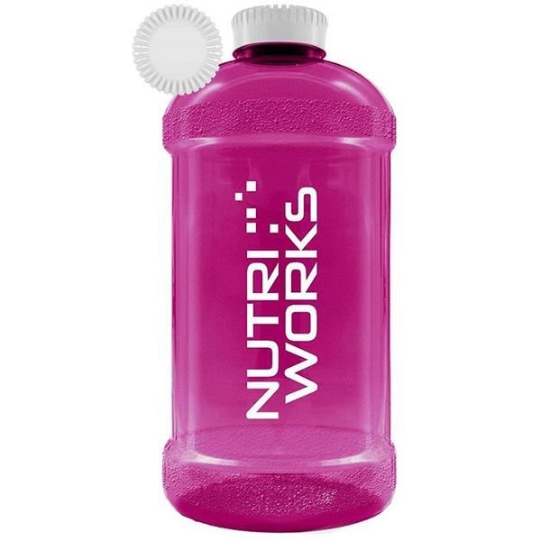 NutriWorks Barel na vodu 2,2l růžový