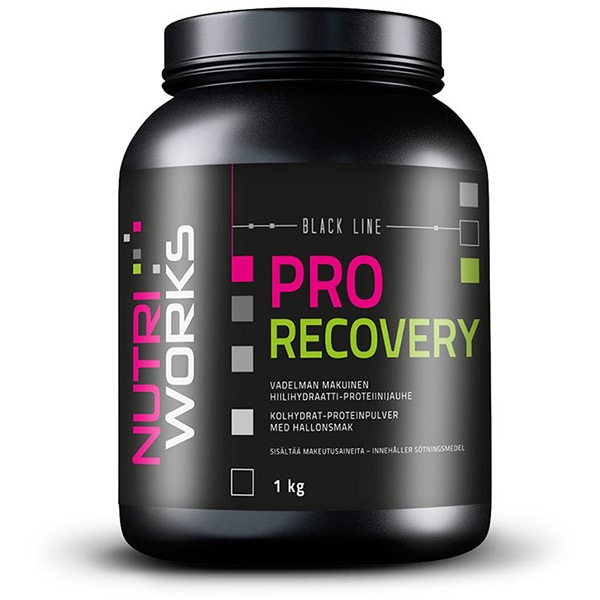 NutriWorks Pro Recovery 1kg malina