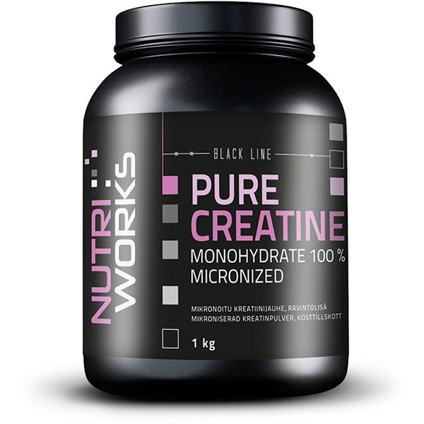 NutriWorks Pure Creatine Monohydrate 1000g