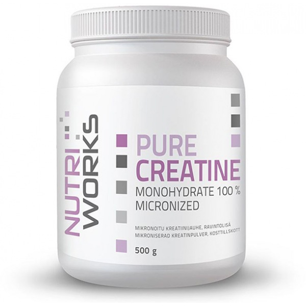 NutriWorks Pure Creatine Monohydrate 500g
