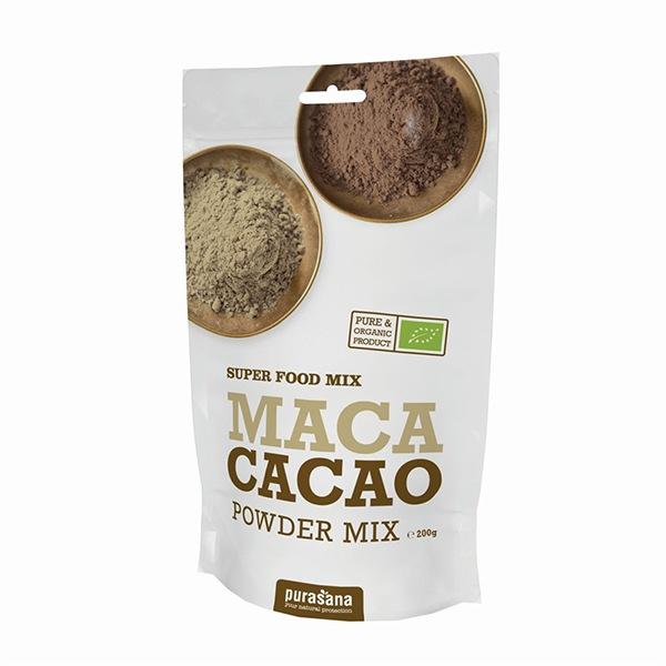 Purasana Maca Cacao Lucuma Powder BIO 200g