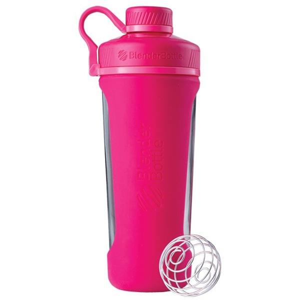 Blender Bottle Radian® Glass 820ml růžová