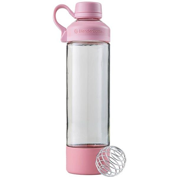 Blender Bottle Mantra Glass 600ml růžová