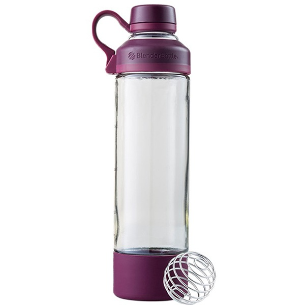 Blender Bottle Mantra Glass 600ml fialová