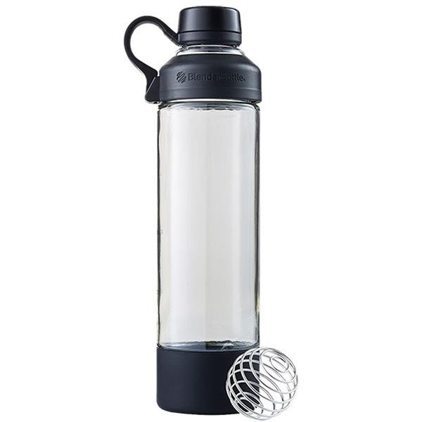 Blender Bottle Mantra Glass 600ml černá