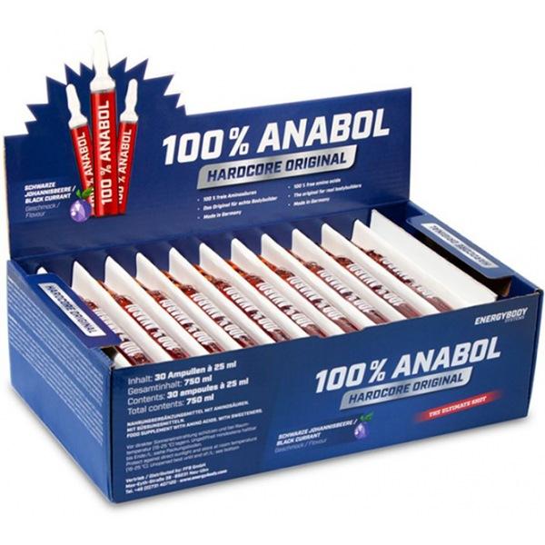 EnergyBody 100% Anabol 30 ampulí