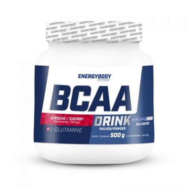 EnergyBody BCAA Drink 500g cherry